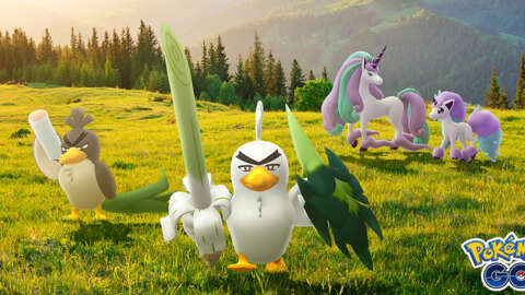 Pokemon Go Celebrates Crown Tundra's Release With New Galarian Pokemon And Outfits