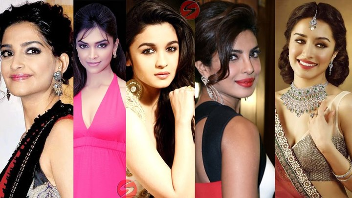 Top most beautiful Bollywood actresses in 2018